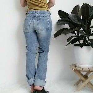 90s Vintage Light Wash London Jean size 2